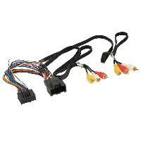 Adaptateur connectivite Autoradio Cable multimedia AV GM siege arriere compatible avec Seat ap12
