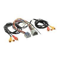 Adaptateur connectivite Autoradio Cable multimedia AV siege arriere compatible avec Seat ap07