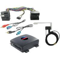 Adaptateur connectivite Autoradio Interface AUTODAB Fakra pour Mercedes A B C W203 - CLK SLK Generique