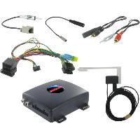 Adaptateur connectivite Autoradio Interface AUTODAB ISO pour Hyundai i40 ix35 SantaFe Generique