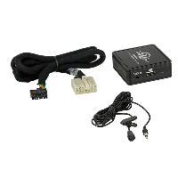 Adaptateur connectivite Autoradio Interface Bluetooth A2DP compatible avec Toyota 5 et 7 PIN