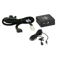 Adaptateur connectivite Autoradio Interface Bluetooth A2DP compatible avec Toyota 6 et 6 PIN