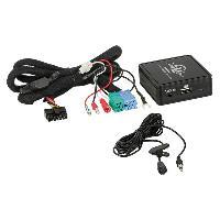 Adaptateur connectivite Autoradio Interface Bluetooth A2DP compatible avec VW avec connecteur ISO