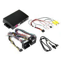 Adaptateur connectivite Autoradio Interface ICPSA1 compatible avec ajout camera sur Citroen Peugeot 2010-2017