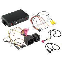 Adaptateur connectivite Autoradio Interface ICPSA2 compatible avec ajout camera sur Citroen Peugeot ap16