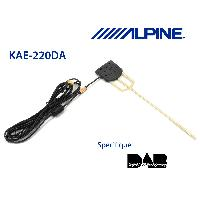 Adaptateur connectivite Autoradio KAE-220DA - Antenne amplifiee pour systemes DAB - DAB DAB Plus DMB -> KAE-242DA Alpine