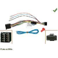 Adaptateurs connectivite autoradio CABLE SPECIFIQUE AUTORADIO PARROT ASTEROID SMART