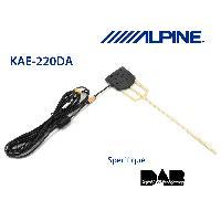 Adaptateurs connectivite autoradio KAE-220DA - Antenne amplifiee pour systemes DAB - DAB DAB Plus DMB -> KAE-242DA - Alpine