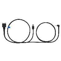 Adaptateurs connectivite autoradio KS-U59 - Cable audio video USB pour iPodiPhone 44s