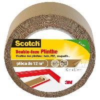 Adhesif 3M SCOTCH Double-face - 15 m x 50 mm - Plinthe