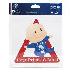Adhesif Bebe a bord - PSG Petit Prince a bord