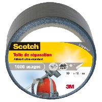 Adhesif SCOTCH Toile adhesive de reparation - 10 m x 48 mm - Gris