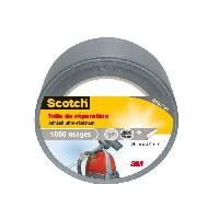 Adhesif SCOTCH Toile adhesive de reparation - 25 m x 48 mm - Gris