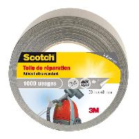 Adhesif SCOTCH Toile adhesive de reparation - 50 m x 48 mm - Gris