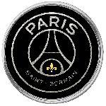 Adhesif Sticker - Embleme PSG Noir Premium