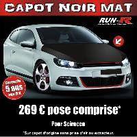 Adhesifs Capots CAPOT NOIR MAT compatible avec SCIROCCO