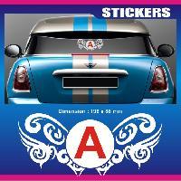 Adhesifs Jeunes Conducteurs Sticker jeune conducteur ARABESQUE Run-R Stickers