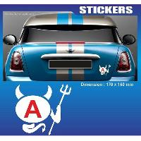 Adhesifs Jeunes Conducteurs Sticker jeune conducteur DIABLE Run-R Stickers