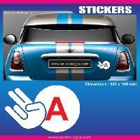 Adhesifs Jeunes Conducteurs Sticker jeune conducteur JDM Run-R Stickers
