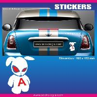 Adhesifs Jeunes Conducteurs Sticker jeune conducteur LAPIN Run-R Stickers
