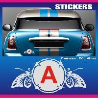 Adhesifs Jeunes Conducteurs Sticker jeune conducteur PAPILLON Run-R Stickers