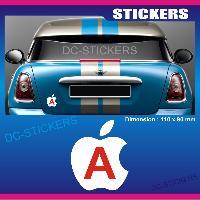 Adhesifs Jeunes Conducteurs Sticker jeune conducteur POMME Run-R Stickers