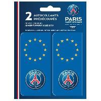 Adhesifs Plaques Immatriculation Autocollant pour plaque immatriculation Europe PSG Paris Saint Germain