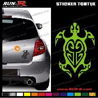 Adhesifs Tribal - Tattoo 1 sticker TORTUE TRIBAL 13 cm - DIVERS COLORIS