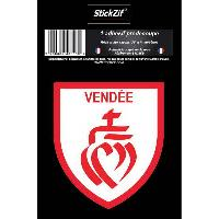 Adhesifs & Stickers 1 Adhesif Departement Blason VENDEE