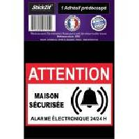 Adhesifs & Stickers 1 Adhesif Pre-Decoupe MAISON Securisee Generique