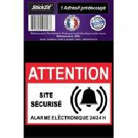 Adhesifs & Stickers 1 Adhesif Pre-Decoupe SITE Securise