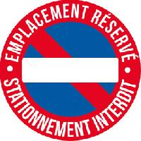 Adhesifs & Stickers 1 Adhesif emplacement reserve diametre 25cm