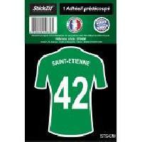 Adhesifs & Stickers 1 Autocollant Maillot De Foot Saint Etienne 42