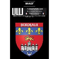 Adhesifs & Stickers 1 Sticker Blason Bordeaux Generique