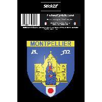 Adhesifs & Stickers 1 Sticker Blason Montpellier