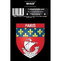 Adhesifs & Stickers 1 Sticker Blason Paris