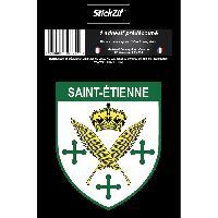 Adhesifs & Stickers 1 Sticker Blason Saint-Etienne Stickzif