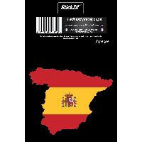 Adhesifs & Stickers 1 Sticker Espagne - STP7C