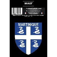 Adhesifs & Stickers 1 Sticker Martinique - STR972B - ADNAuto