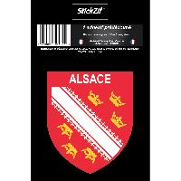 Adhesifs & Stickers 1 Sticker Region Alsace 1
