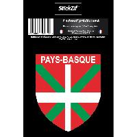 Adhesifs & Stickers 1 Sticker Region Pays-Basque STR12B