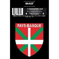 Adhesifs & Stickers 1 Sticker Region Pays-Basque STR12B Generique