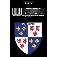 Adhesifs & Stickers 1 Sticker Region Picardie - STR7B