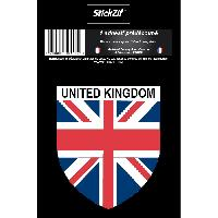 Adhesifs & Stickers 1 Sticker Region United Kingdom - STP5B - ADNAuto