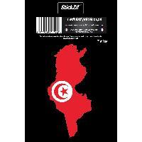 Adhesifs & Stickers 1 Sticker Tunisie - STP9C Generique
