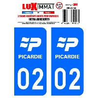 Adhesifs & Stickers 2 Adhesifs Resine Premium Departement 02