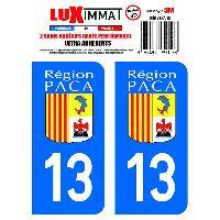 Adhesifs & Stickers 2 Adhesifs Resine Premium Departement 13 Generique
