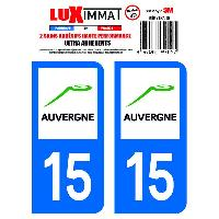 Adhesifs & Stickers 2 Adhesifs Resine Premium Departement 15