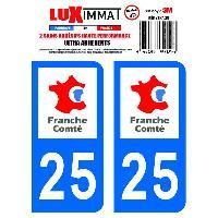 Adhesifs & Stickers 2 Adhesifs Resine Premium Departement 25 - ADNAuto