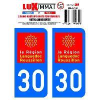Adhesifs & Stickers 2 Adhesifs Resine Premium Departement 30